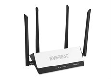 Everest EWR-521N4 Smart APP Control 300Mbps Repeater+Acc.Po+Bridge Wifi Router